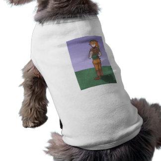 Emma, carácter de la galería de arte del animado playera sin mangas para perro