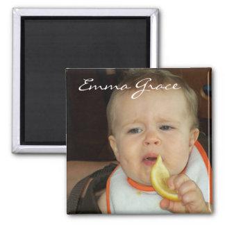"""""""Emma eats a Lemon"""" Magnet"""