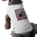 Emma en flores I - pequeño gatito gris del Tabby Camiseta De Mascota