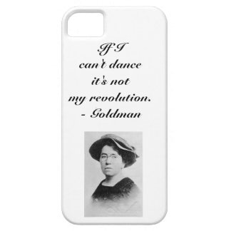 Emma Goldman Anarchist Quote Smartphone Cover iPhone 5 Cover