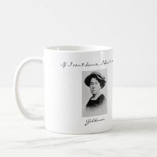 Emma Goldman Anarchist Quotes Mug