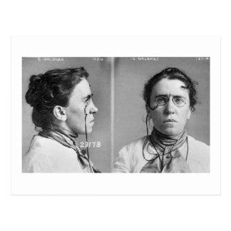 Emma Goldman - anarquista, 1911 Postal