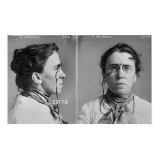Emma Goldman - anarquista, 1911 Póster