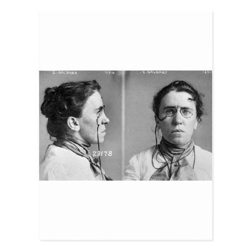 Emma Goldman - anarquista, 1911 Tarjetas Postales