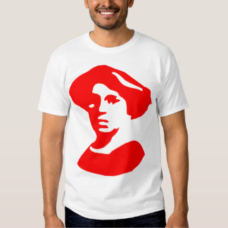 Emma Goldman con cita Playeras