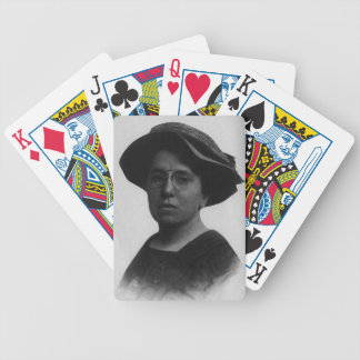 emma goldman playing cards