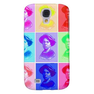 Emma Goldman Pop Art Galaxy S4 Cases