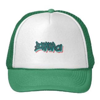Emma Graffiti Trucker Hat, Cap Trucker Hat