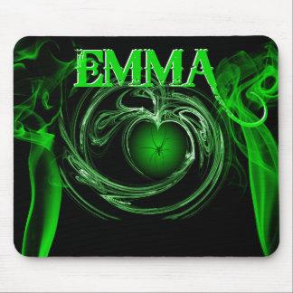 EMMA HEART MOUSE PAD