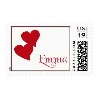 Emma hearts stamps