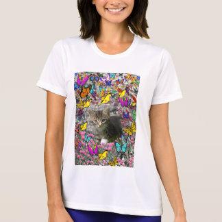 Emma in Butterflies I - Gray Tabby Kitten T Shirts