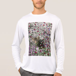Emma in Flowers II, Little Gray Tabby Kitty Cat Tshirts