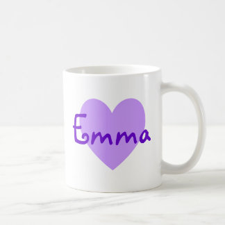 Emma in Purple Coffee Mug