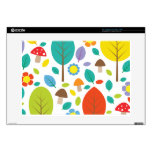 Emma Janeway Autumn Fall Leaves Decals For Laptops