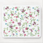 Emma Janeway Chic Floral Mouse Pad
