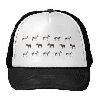 Emma Janeway Farmyard Horse and Mules Candle Set Trucker Hat