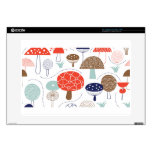 Emma Janeway Mushrooms Collection Decal For Laptop