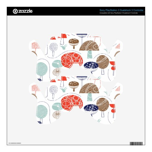 Emma Janeway Mushrooms Collection PS3 Controller Skin