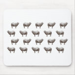 Emma Janeway Sheep Mouse Pad