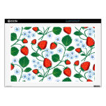 """Emma Janeway Strawberries Decal For 17"""" Laptop"""