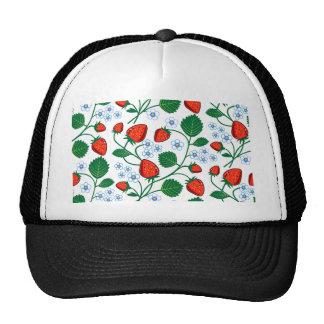 Emma Janeway Strawberries Trucker Hat