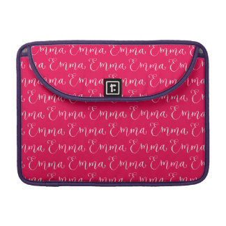 Emma - Modern Calligraphy Name Design MacBook Pro Sleeves