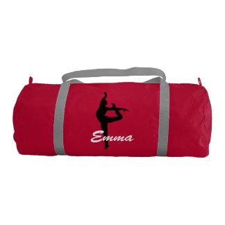 Emma personalized duffle gym bag gym duffel bag