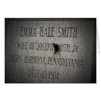Emma Smith Grave Card