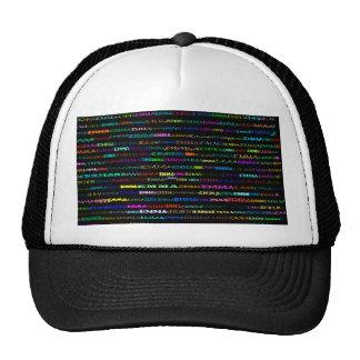 Emma Text Design I Hat