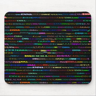 Emma Text Design I Mousepad