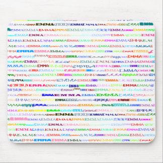 Emma Text Design II Mousepad