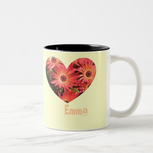 Emma Two-Tone Coffee Mug