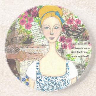 Emma Woodhouse Drink Coaster