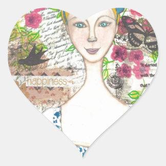 Emma Woodhouse Heart Sticker