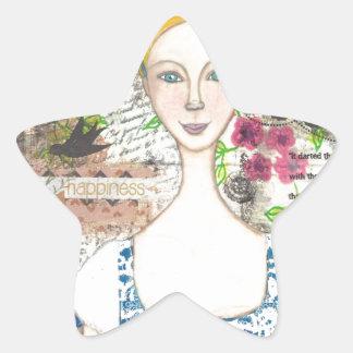 Emma Woodhouse Star Sticker
