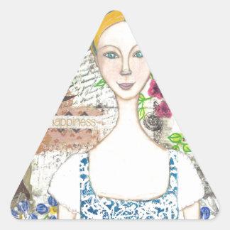 Emma Woodhouse Triangle Sticker