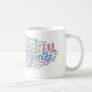 Emma Word Cloud Classic White Coffee Mug