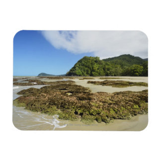 Emmagen Beach, Daintree National Park (UNESCO 3 Rectangular Magnets