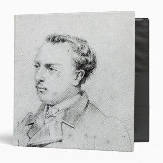 Emmanuel Chabrier aged 20, 1861 3 Ring Binder