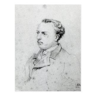 Emmanuel Chabrier aged 20, 1861 Postcard