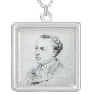 Emmanuel Chabrier aged 20, 1861 Silver Plated Necklace