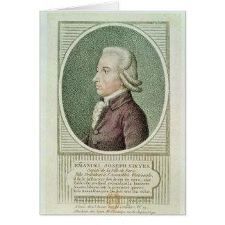 Emmanuel Joseph Sieyes Card