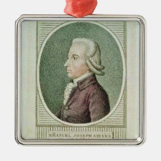 Emmanuel Joseph Sieyes Metal Ornament