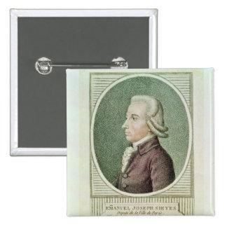 Emmanuel Joseph Sieyes Pinback Button