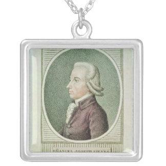 Emmanuel Joseph Sieyes Square Pendant Necklace