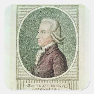 Emmanuel Joseph Sieyes Square Sticker