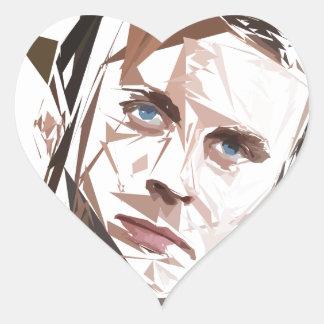 Emmanuel Macron Heart Sticker
