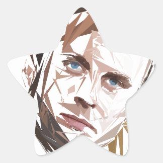 Emmanuel Macron Star Sticker