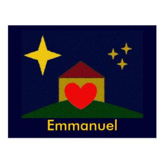 Emmanuel Postcard