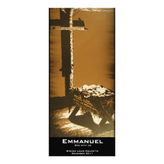 """Emmanuel"" Value Bookmark Full Color Rack Card"